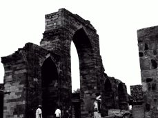 Some of the remains around Qutub Minar