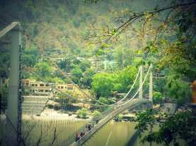 The ram Jhoola of Rishikesh