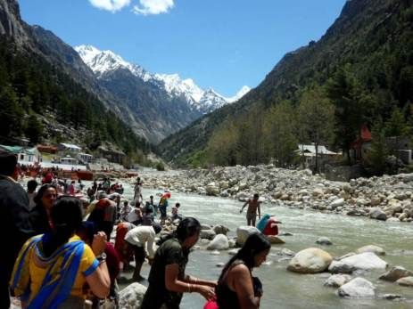River Ganges at Gangotri