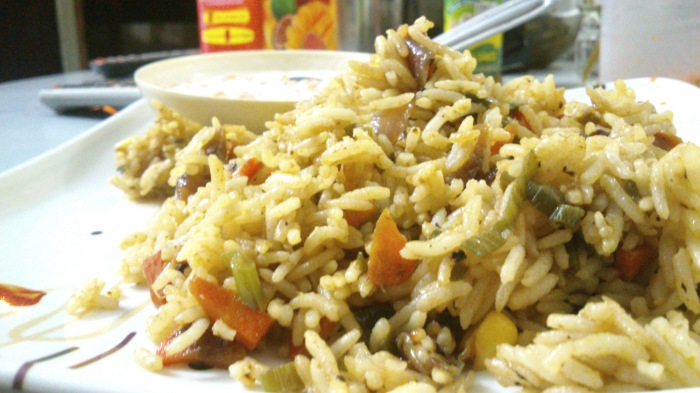 Veg Fried Rice :D