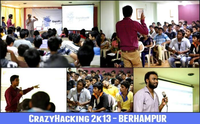 Vaibhav and Bhargav @ CrazyHacking2k13 Berhampur