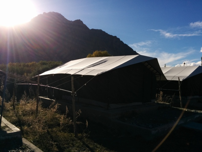 The tents at Nebura Valley !